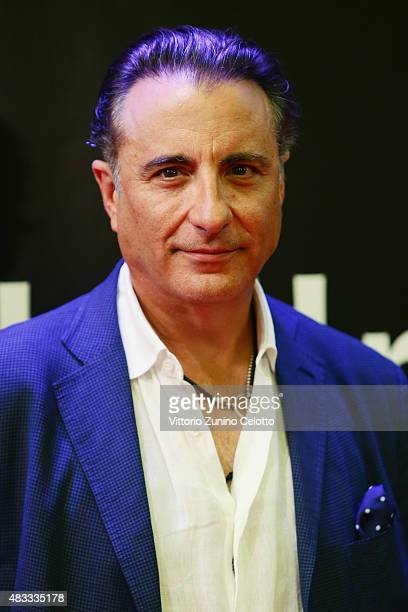 Actor Andy Garcia attends the Leopard Club Award 2015 red carpet on August 7 2015 in Locarno Switzerland