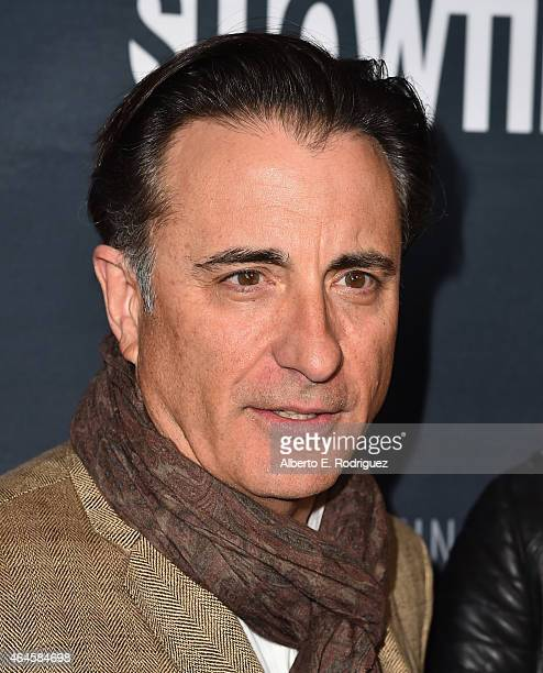 Actor Andy Garcia attends the premiere of Showtime's 'Kobe Bryant's Muse' at The London Hotel on February 26 2015 in West Hollywood California