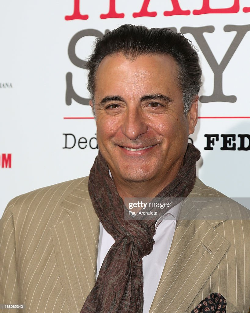 Actor Andy Garcia attends the premiere of 'The Great Beauty' at the Cinema Italian Style 2013 Opening Night at the Egyptian Theatre on November 14, 2013 in Hollywood, California.