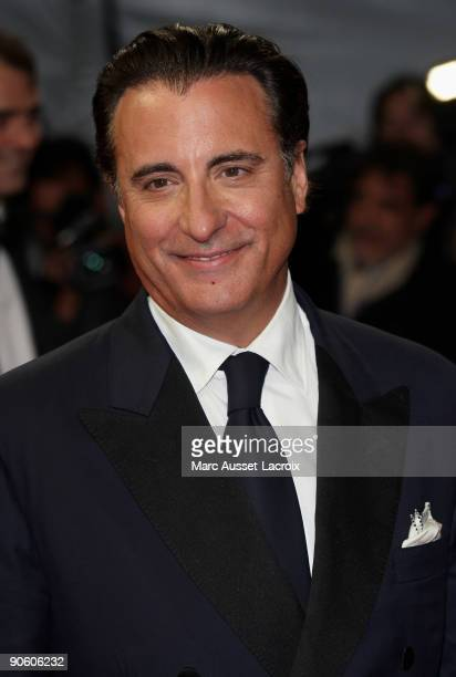 US actor Andy Garcia poses for the screening of the movie 'City Island' directed by US film director Raymond De Felitta at the 35th US film festival...