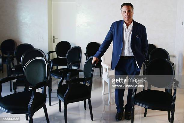 Actor Andy Garcia poses on August 7 2015 in Locarno Switzerland