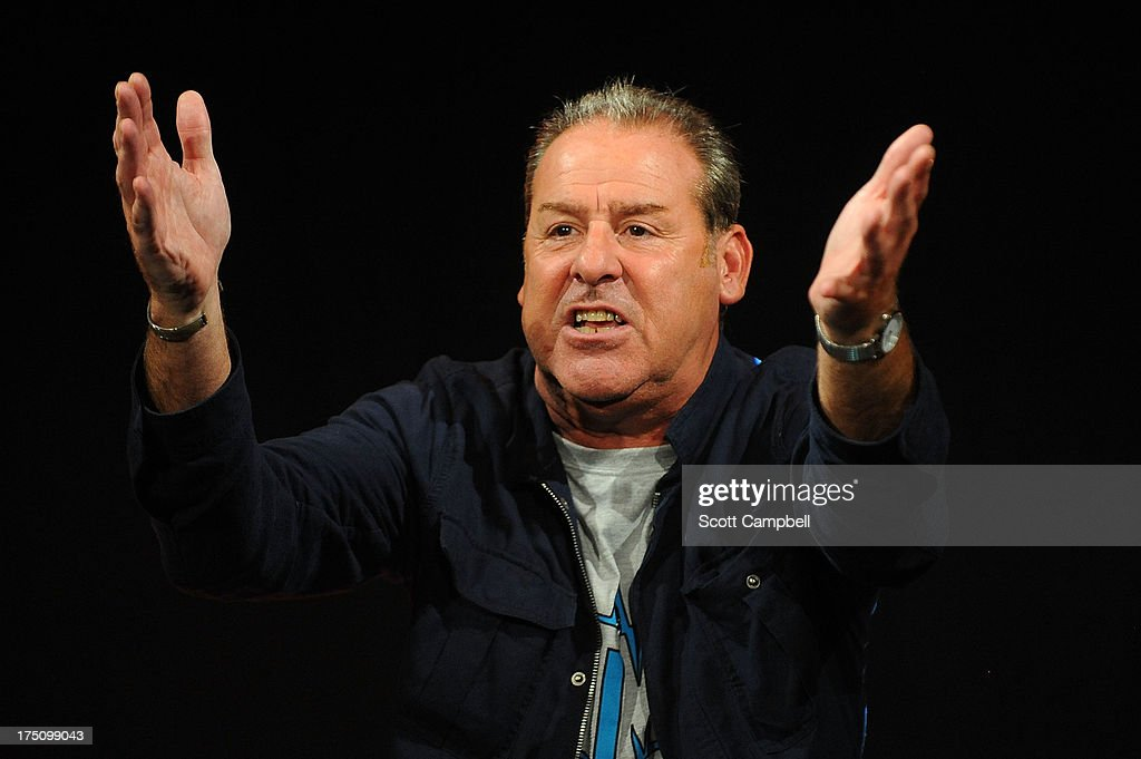 Actor Andy Gray performs during the Assembly Rooms Press Launch at The Edinburgh Festival Fringe on July 31, 2013 in Edinburgh, Scotland.>>
