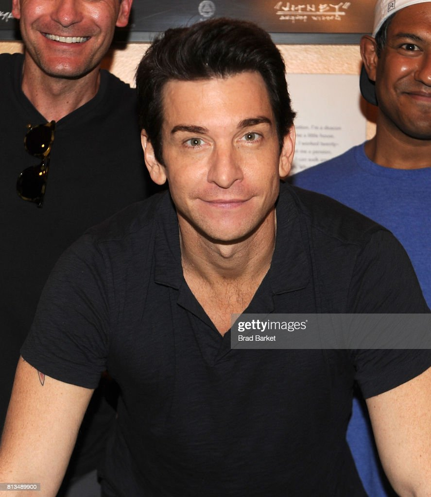 actor andy karl and the cast of groundhog day attend groundhog day picture id813489900