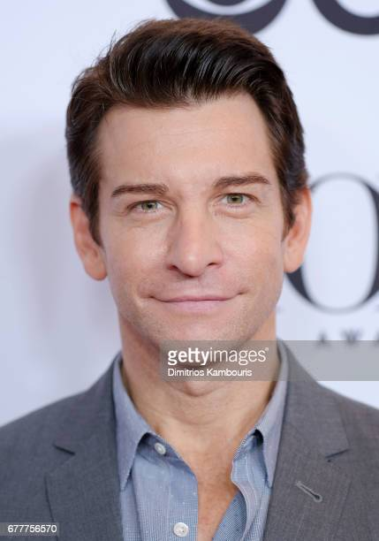 Actor Andy Karl attends the 2017 Tony Awards Meet The Nominees Press Junket at the Sofitel New york on May 3 2017 in New York City