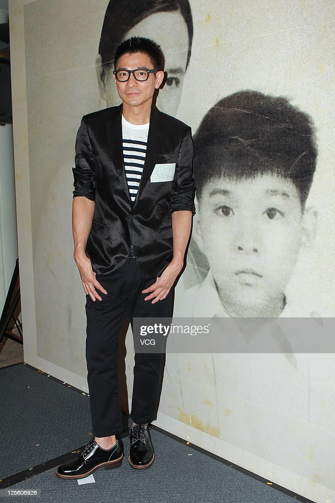 Actor Andy Lau attends 'A Simple Life' celebration party on September 18, 2011 in Hong Kong.