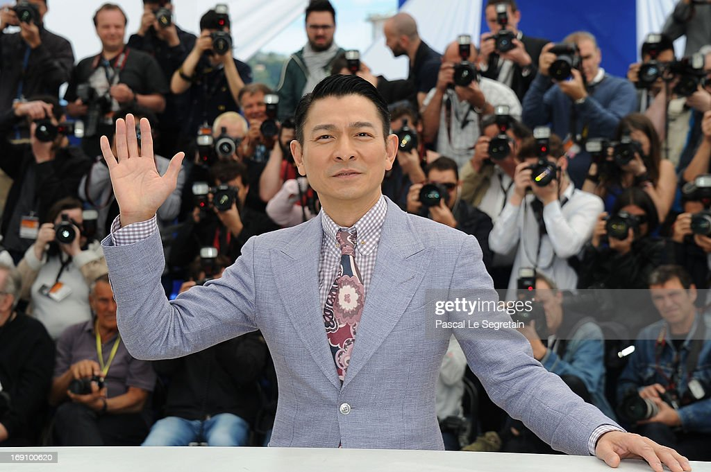 Actor <a gi-track='captionPersonalityLinkClicked' href=/galleries/search?phrase=Andy+Lau&family=editorial&specificpeople=171171 ng-click='$event.stopPropagation()'>Andy Lau</a> attends the photocall for 'Blind Detective' during The 66th Annual Cannes Film Festival at Palais des Festivals on May 20, 2013 in Cannes, France.