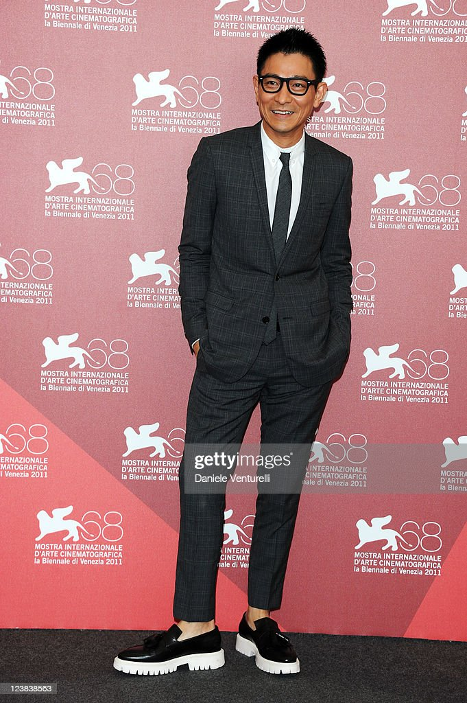 Actor Andy Lau attends the 'Tao Jie' Photocall during the 68th Venice International Film Festiva at Palazzo del Casino on September 5, 2011 in Venice, Italy.