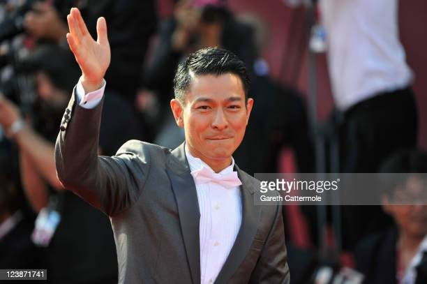 Actor Andy Lau attends the 'Tao Jie' premiere at the Palazzo del Cinema during the 68th Venice Film Festival on September 5 2011 in Venice Italy