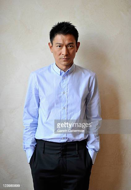 Actor Andy Lau poses at the 'A Simple Life' portrait session during 68th Venice Film Festival on September 7 2011 in Venice Italy
