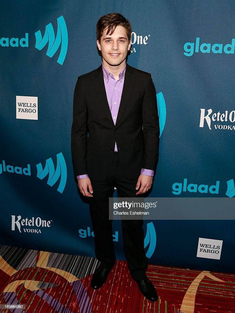 Actor Andy Mientus attends the 24th annual GLAAD Media awards at The New York Marriott Marquis on March 16, 2013 in New York City.