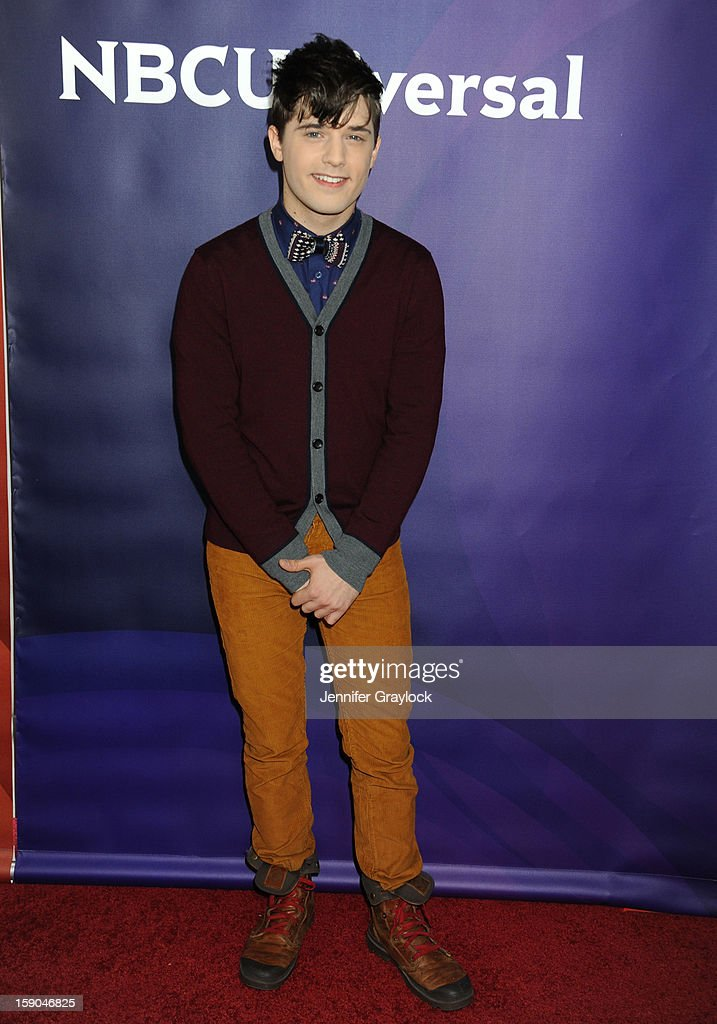 Actor Andy Mientus attends the NBC Winter TCA Press Tour held at the Langham Huntington Hotel and Spa on January 6, 2013 in Pasadena, California.