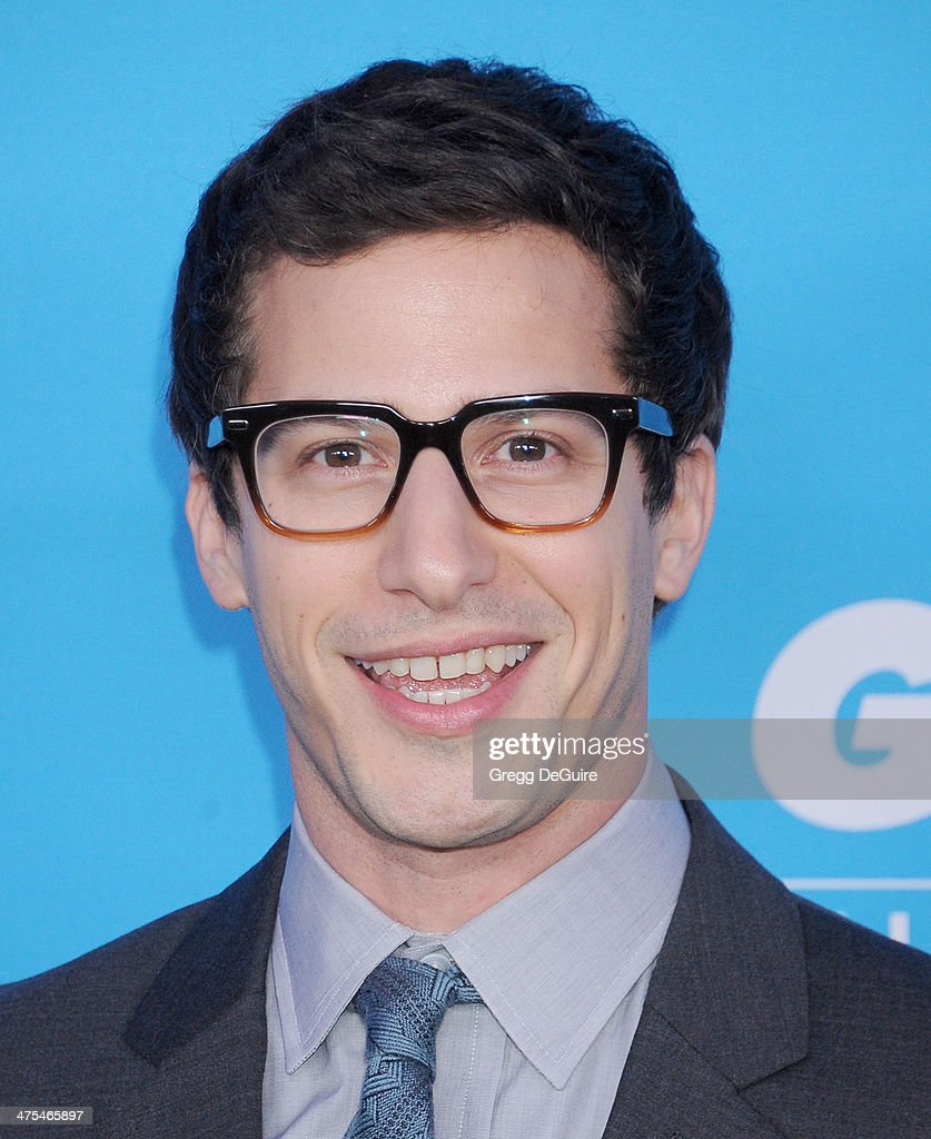 Actor <a gi-track='captionPersonalityLinkClicked' href=/galleries/search?phrase=Andy+Samberg&family=editorial&specificpeople=595651 ng-click='$event.stopPropagation()'>Andy Samberg</a> arrives at the 1st Annual Unite4:humanity event hosted by Unite4good and Variety at Sony Studios on February 27, 2014 in Los Angeles, California.