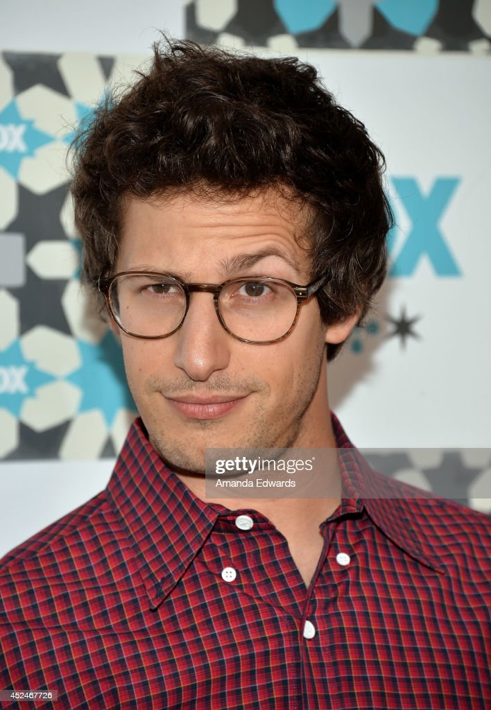 Actor Andy Samberg arrives at the 2014 Television Critics Association Summer Press Tour - FOX All-Star Party at Soho House on July 20, 2014 in West Hollywood, California.