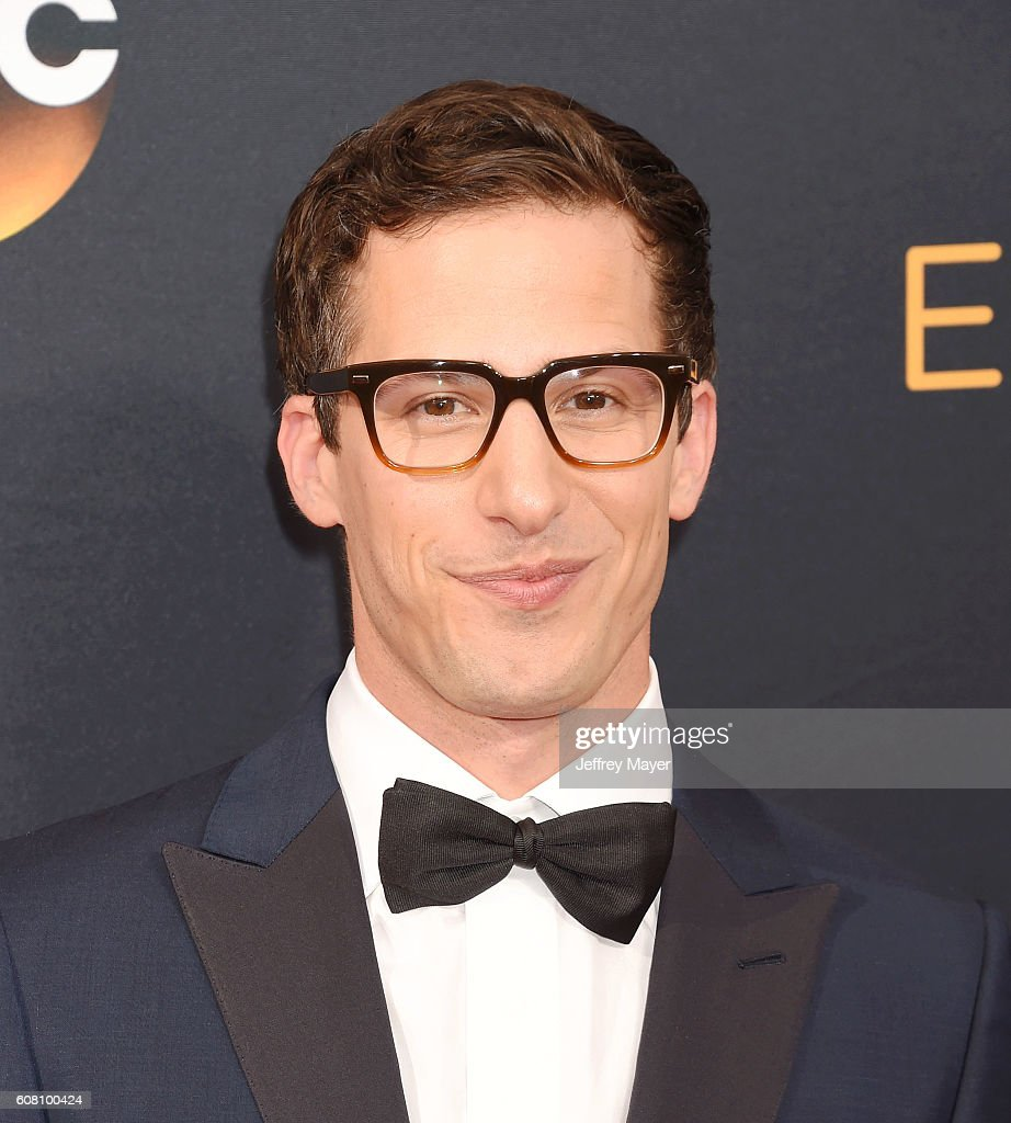 Actor Andy Samberg arrives at the 68th Annual Primetime Emmy Awards at Microsoft Theater on September 18, 2016 in Los Angeles, California.