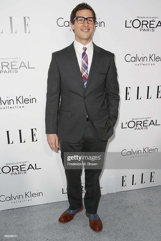 Actor Andy Samberg attends ELLE's 20th Annual Women in Hollywood Celebration at the Four Seasons Hotel Los Angeles at Beverly Hills on October 21, 2013 in Beverly Hills, California.