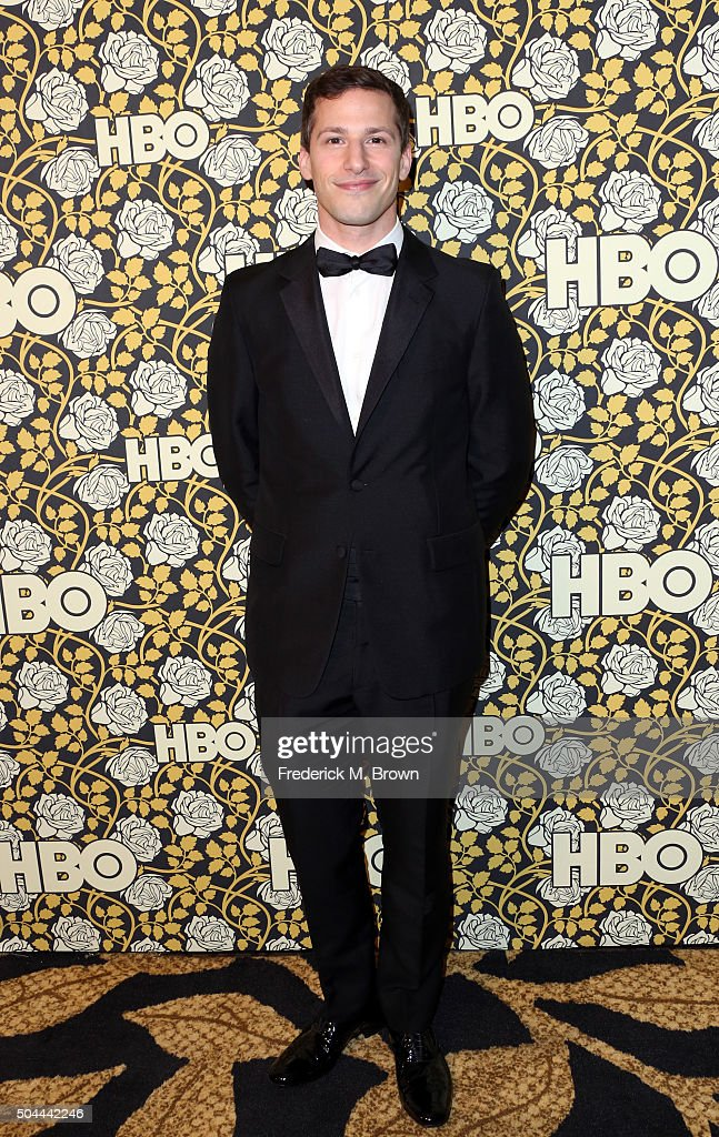 Actor Andy Samberg attends HBO's Post 2016 Golden Globe Awards Party at Circa 55 Restaurant on January 10, 2016 in Los Angeles, California.