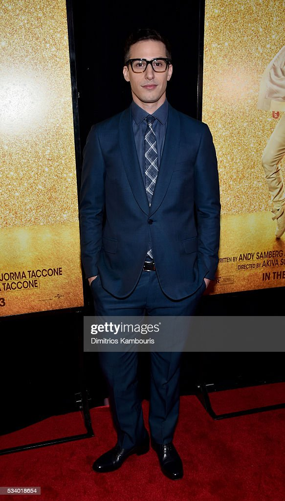 Actor <a gi-track='captionPersonalityLinkClicked' href=/galleries/search?phrase=Andy+Samberg&family=editorial&specificpeople=595651 ng-click='$event.stopPropagation()'>Andy Samberg</a> attends 'Popstar: Never Stop Never Stopping' premiere at AMC Loews Lincoln Square 13 theater on May 24, 2016 in New York City.