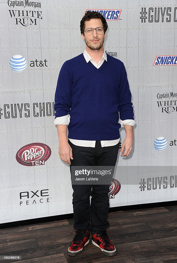 Actor Andy Samberg attends Spike TV's 'Guys Choice' Awards at Sony Studios on June 7, 2014 in Los Angeles, California.