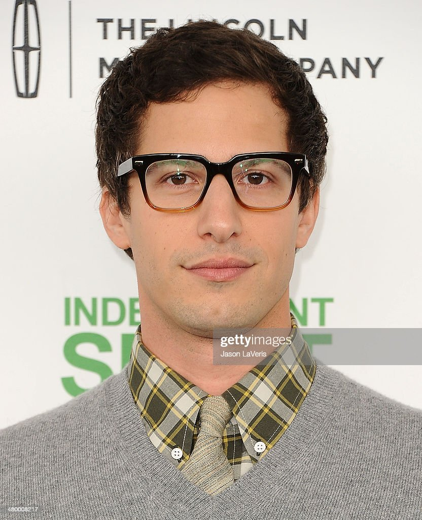 Actor <a gi-track='captionPersonalityLinkClicked' href=/galleries/search?phrase=Andy+Samberg&family=editorial&specificpeople=595651 ng-click='$event.stopPropagation()'>Andy Samberg</a> attends the 2014 Film Independent Spirit Awards on March 1, 2014 in Santa Monica, California.