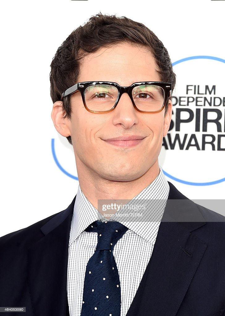 Actor <a gi-track='captionPersonalityLinkClicked' href=/galleries/search?phrase=Andy+Samberg&family=editorial&specificpeople=595651 ng-click='$event.stopPropagation()'>Andy Samberg</a> attends the 2015 Film Independent Spirit Awards at Santa Monica Beach on February 21, 2015 in Santa Monica, California.