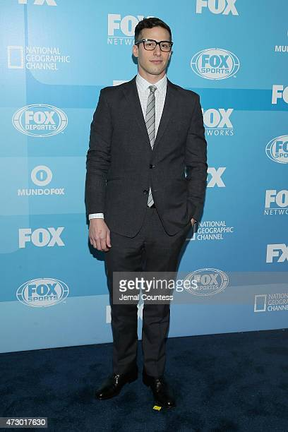 Actor Andy Samberg attends the 2015 FOX programming presentation at Wollman Rink in Central Park on May 11 2015 in New York City