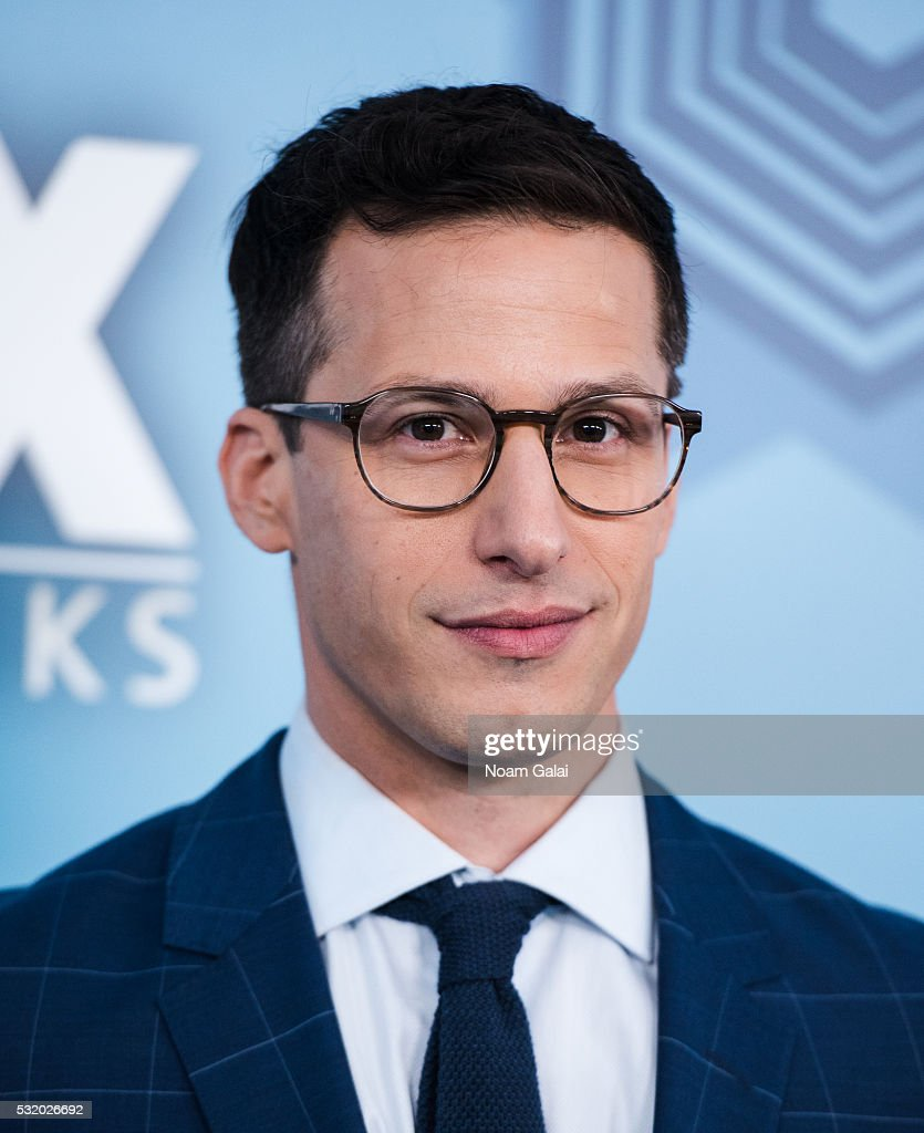 Actor Andy Samberg attends the 2016 Fox Upfront at Wollman Rink, Central Park on May 16, 2016 in New York City.