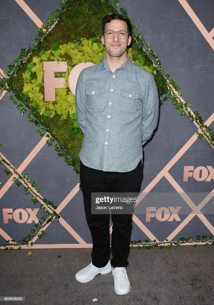 Actor Andy Samberg attends the FOX Fall Party at Catch LA on September 25, 2017 in West Hollywood, California.