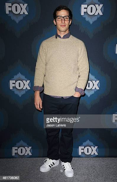 Actor Andy Samberg attends the FOX winter TCA AllStar party at Langham Hotel on January 17 2015 in Pasadena California