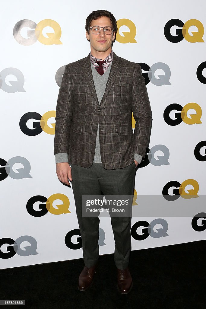 Actor <a gi-track='captionPersonalityLinkClicked' href=/galleries/search?phrase=Andy+Samberg&family=editorial&specificpeople=595651 ng-click='$event.stopPropagation()'>Andy Samberg</a> attends the GQ Men Of The Year Party at The Ebell Club of Los Angeles on November 12, 2013 in Los Angeles, California.