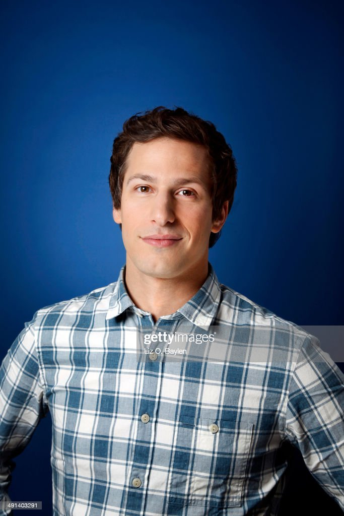 Actor <a gi-track='captionPersonalityLinkClicked' href=/galleries/search?phrase=Andy+Samberg&family=editorial&specificpeople=595651 ng-click='$event.stopPropagation()'>Andy Samberg</a> is photographed for Los Angeles Times on April 7, 2014 in Hollywood, California. PUBLISHED IMAGE.