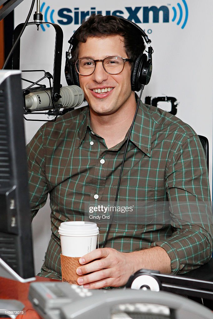 Actor <a gi-track='captionPersonalityLinkClicked' href=/galleries/search?phrase=Andy+Samberg&family=editorial&specificpeople=595651 ng-click='$event.stopPropagation()'>Andy Samberg</a> visits 'Covino & Rich' at the SiriusXM Studio on June 8, 2012 in New York City.