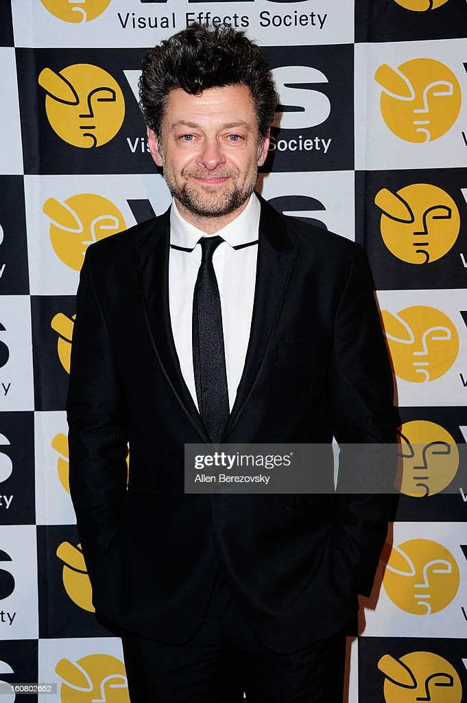 Actor Andy Serkis arrives at the 2013 Visual Effects Society Awards at The Beverly Hilton Hotel on February 5, 2013 in Beverly Hills, California.