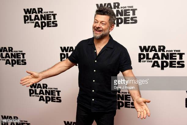 Actor Andy Serkis attends a screening of 'War For The Planet Of The Apes' at The Ham Yard Hotel on June 19 2017 in London England
