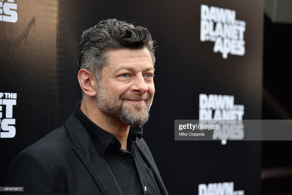 Actor Andy Serkis attends the 'Dawn Of The Planets Of The Apes' premiere at Williamsburg Cinemas on July 8 2014 in New York City