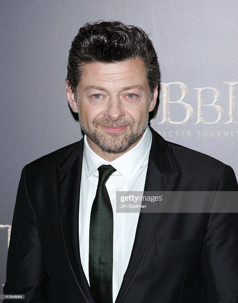 Actor Andy Serkis attends 'The Hobbit: An Unexpected Journey' premiere at the Ziegfeld Theater on December 6, 2012 in New York City.