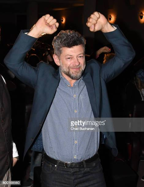 Actor Andy Serkis seen introducing ÔPlanet der Affen SurvivalÕ at the Astor Theater on June 23 2017 in Berlin Germany