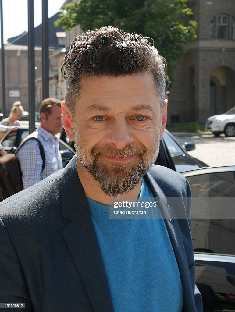 Actor Andy Serkis sighted at SAT1 television studio on July 18, 2014 in Berlin, Germany.
