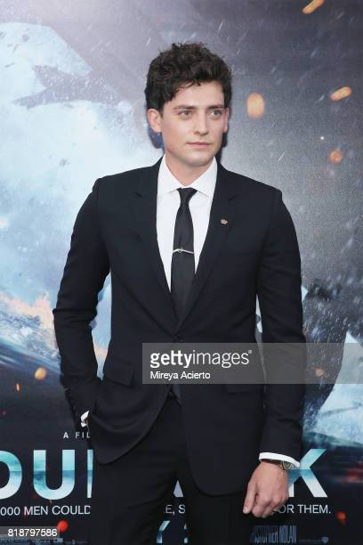 Actor Aneurin Barnard attends the 'DUNKIRK' New York Premiere on July 18 2017 in New York City
