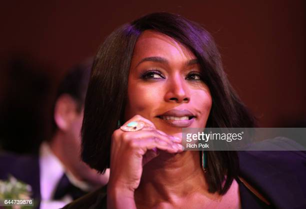 Actor Angela Bassett at Essence Black Women in Hollywood Awards at the Beverly Wilshire Four Seasons Hotel on February 23 2017 in Beverly Hills...