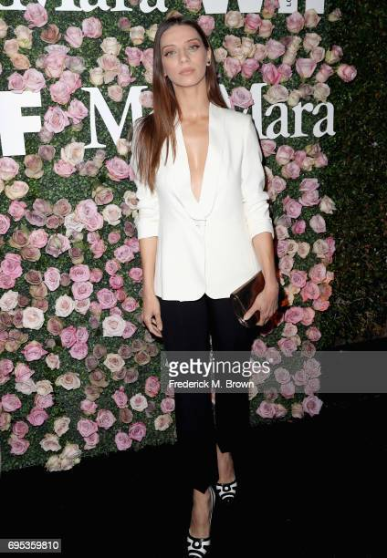Actor Angela Sarafyan attends Max Mara Celebration of Zoey Deutch as The 2017 Women In Film Max Mara Face of The Future Award Recipient at Chateau...