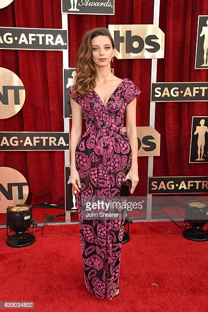 Actor Angela Sarafyan attends The 23rd Annual Screen Actors Guild Awards at The Shrine Auditorium on January 29 2017 in Los Angeles California