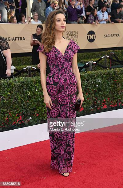 Actor Angela Sarafyan attends the 23rd Annual Screen Actors Guild Awards at The Shrine Expo Hall on January 29 2017 in Los Angeles California