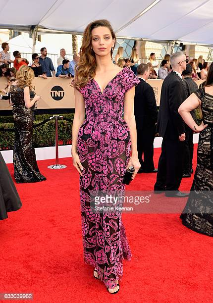Actor Angela Sarafyan attends The 23rd Annual Screen Actors Guild Awards at The Shrine Auditorium on January 29 2017 in Los Angeles California...