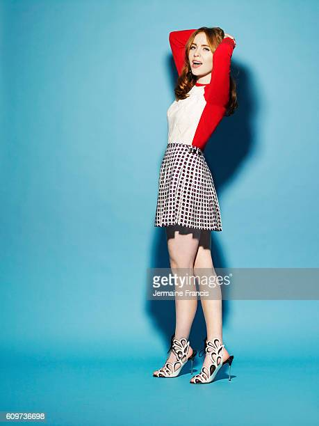 Actor Angela Scanlon is photographed for the Sunday Times on February 27 2013 in London England
