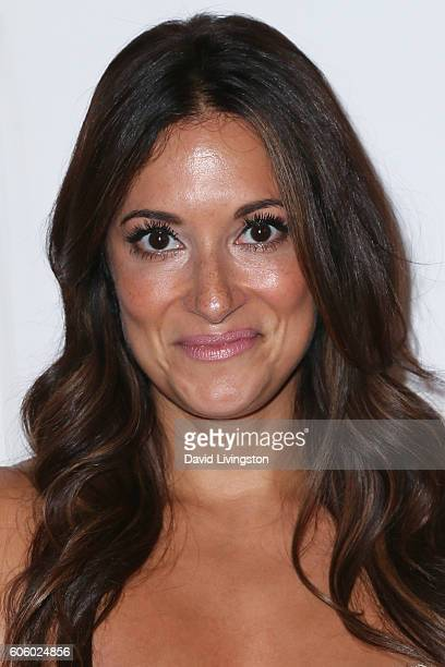 Actor Angelique Cabral arrives at Audi Celebrates The 68th Emmys at Catch on September 15 2016 in West Hollywood California