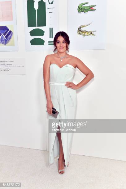 Actor Angelique Cabral attends The 19th CDGA with Presenting Sponsor LACOSTE at The Beverly Hilton Hotel on February 21 2017 in Beverly Hills...