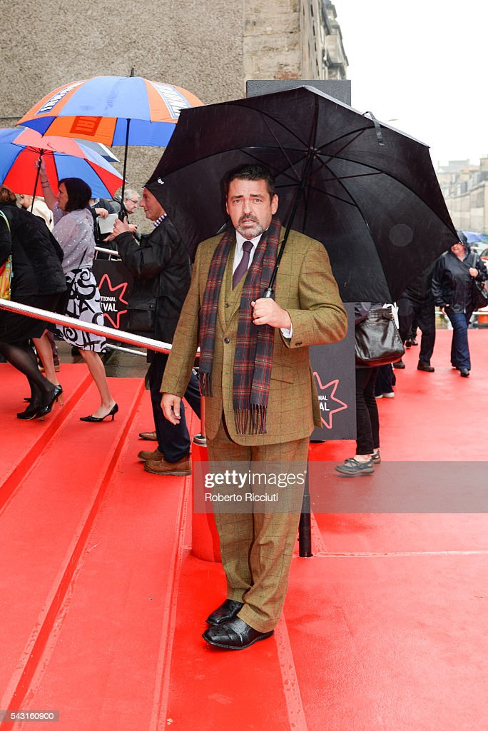 Actor Angus Macfadyen attends the EIFF Closing Night Gala and World Premiere of 'Whisky Galore!' during the 70th Edinburgh International Film Festival at Festival Theatre on June 26, 2016 in Edinburgh, United Kingdom.