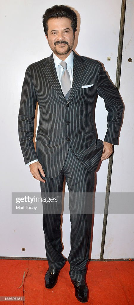 Actor Anil Kapoor during Indian Television Academy Awards 2012 (ITA Awards), held in Mumbai on November 4, 2012.
