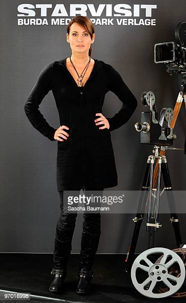 Actor Anja Kling attends the STARVISIT at the Burda Medien Park Verlage on February 24 2010 in Offenburg Germany