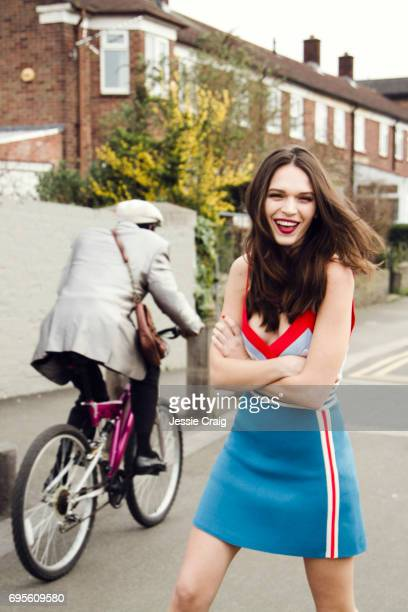 Actor Anna Brewster is photographed for The Picture Journal on March 16 2017 in London England